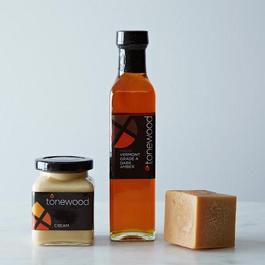 Pure Dark Amber Maple Syrup, Maple Cream & Cube
