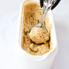 Date Honey Caramel Vanilla Ice Cream