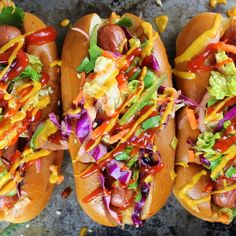 Korean Slaw Dog