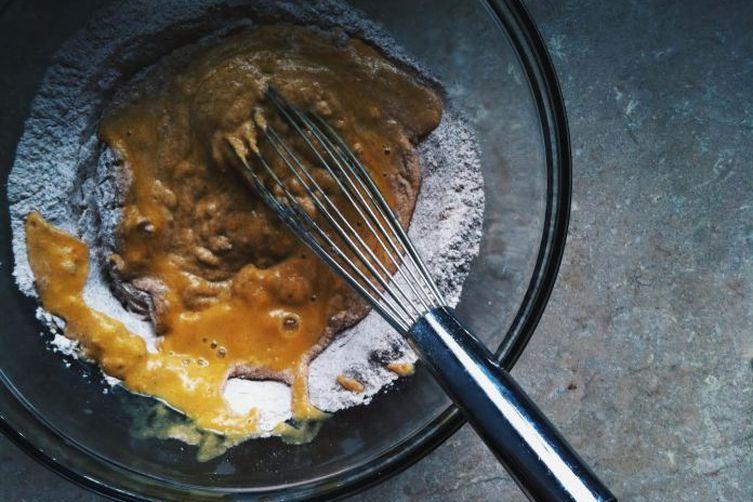 Vegan Pumpkin Banana Pancakes