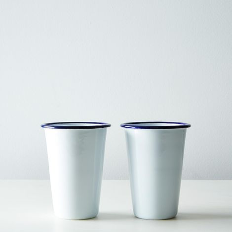 Enamel Cups (Set of 2)
