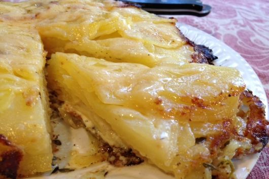 Magical French Potato Cake