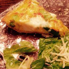 Smoked Salmon Asparagus Leek Quiche