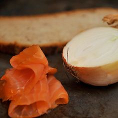 Smoked Salmon Mousse on Rye Toasts