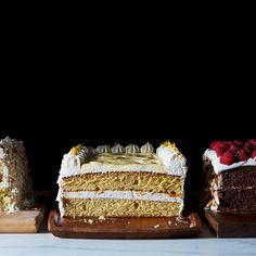 Lemon Sheet Cake Layer Cake