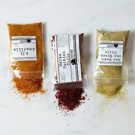 Unique Chiles of the World Spice Sampler