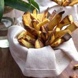 Cajun-roasted sweet potato fries