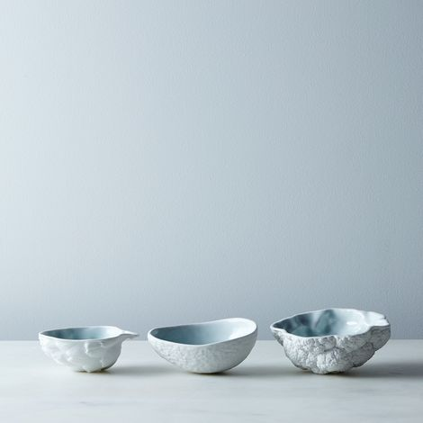 Porcelain Vegetable Bowls (Set of 3)