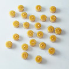 Beeswax Tea Lights (Set of 24)