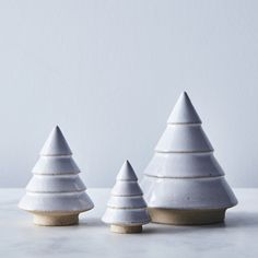 Ceramic Winter Forest