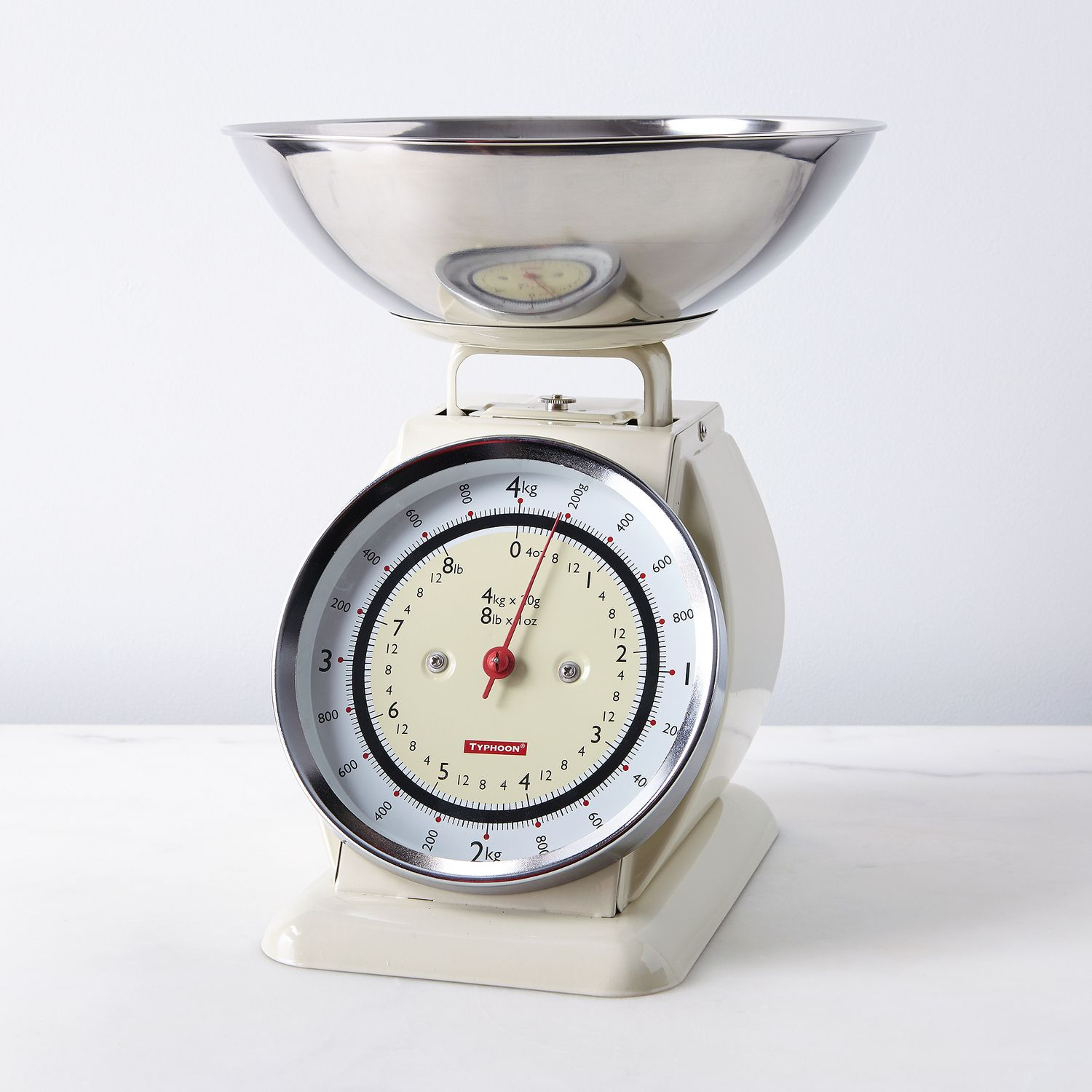 Vintage-Style Kitchen Scale With Removable Bowl On Food52