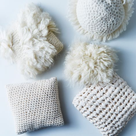 Handwoven Sculptural Throw Pillows