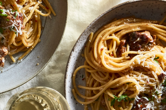 The Absurdly Easy Pasta Trick for the Most Swoon-Worthy Spaghetti
