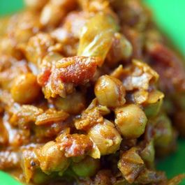 Chickpea, Lentil and Red Kidney Beans in Masala Sauce