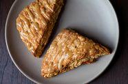 Walnut Sage Scones with Brown Butter Maple Glaze