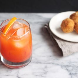 Garibaldi Cocktail (Campari-Orange Aperitivo)