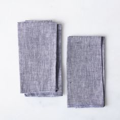 Linen Chambray Napkins (Set of 4)