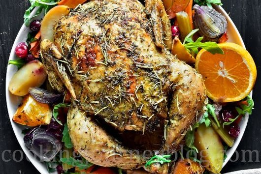 Roasted Chicken and Vegetables (Whole Chicken Recipes)