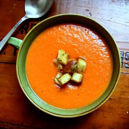 Slow Roasted Tomato Soup