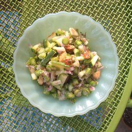 Raw Zucchini and Asparagus Salad