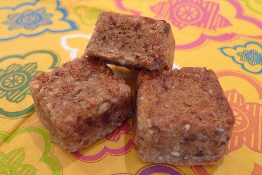 Coconut Date Nut Squares