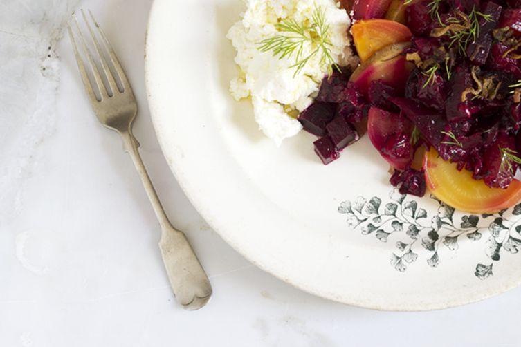 Beet & Plum Salad