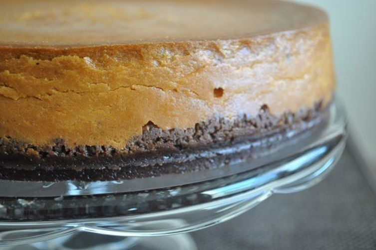 Overnight Ginger Pumpkin Cheesecake (The Washington Post)
