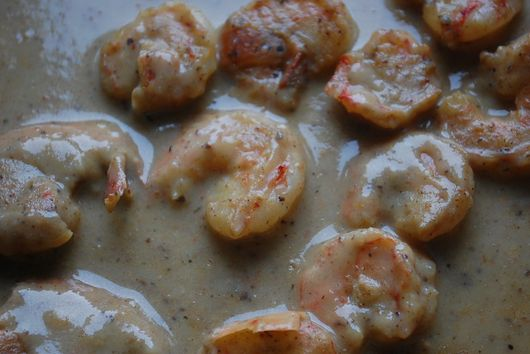 Shrimp and tomato bisque