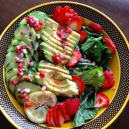 Salads with Fruit by Meredith Schwartz