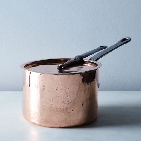 Vintage Copper Benham & Sons Saucepan, Late 19th Century