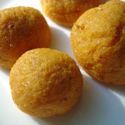 Cheesy Sweet Potato Balls