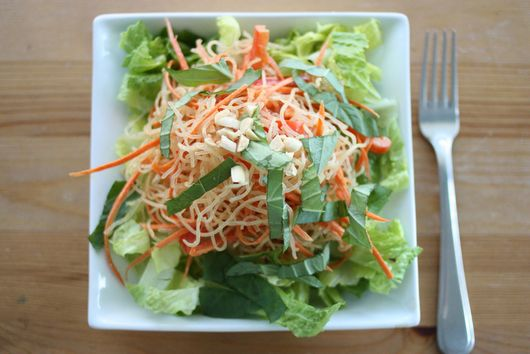 No-Cook, Vegan Pad Thai
