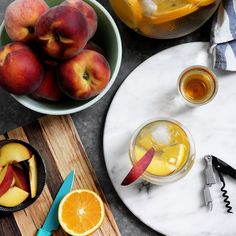 Glamorous Golden Sangria Recipe