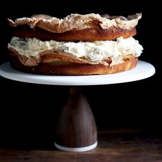 A Two-Layered Passionfruit Cake That Requires No Extra Work (or Pans)