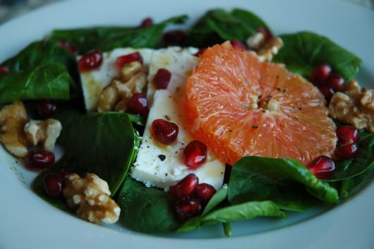 Demeter and Persephone's Antioxidant Salad
