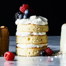 Berries-and-Cream Mini Layer Cakes
