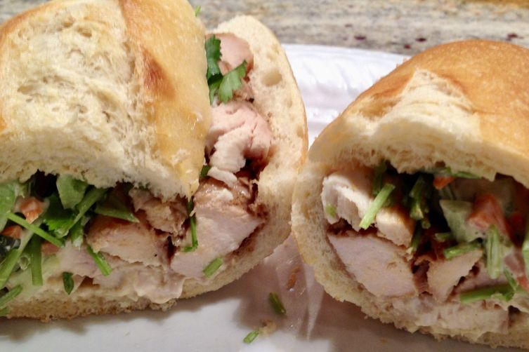 Turkey Banh Mi Sandwich