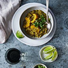 Green Curry Porridge à la Heidi Swanson