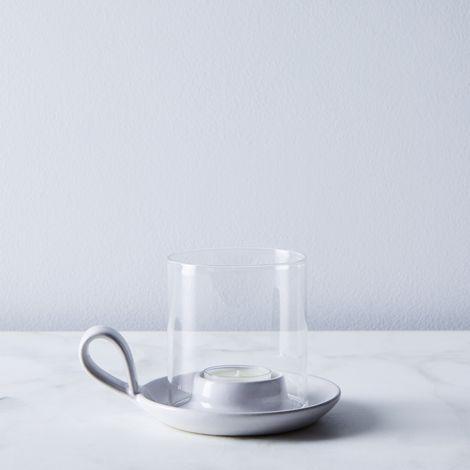 Ceramic Pantry Candleholder & Tealights