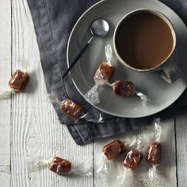 Coffee + Orange + Smoked Salt Caramels