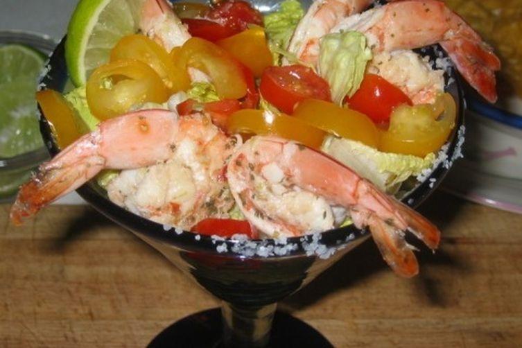 Grilled Shrimp Cocktail...Margarita Style!
