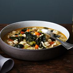 A Warming Chicken and Orzo Soup for Winter