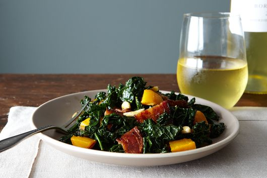 Triple Surprise Kale Salad