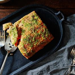 The Genius Way to Handle Hot Peppers (+ a Genius Salmon Recipe to Put Them On)