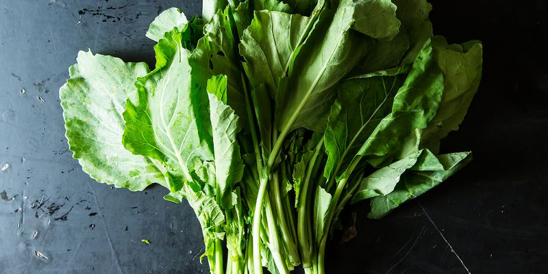 "Don't wait for cold weather to enjoy ""wintery"" greens"