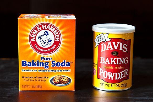Baking Soda, Baking Powder