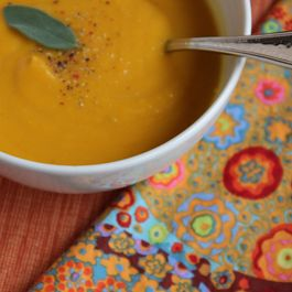 Taste of Autumn Pumpkin & Pear Soup