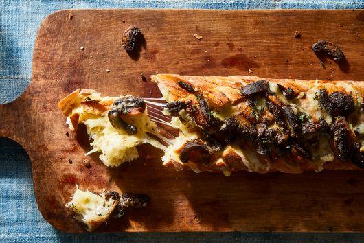 Cheesy Mushroom Bread