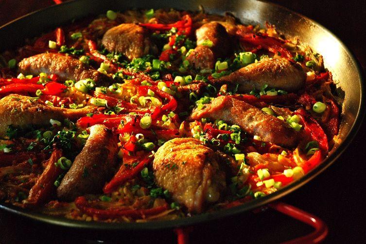 Red Chicken Recipe Chicken Sausage And Red