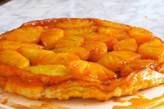 Pineapple Tarte Tatin